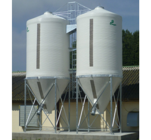 silo-polyester-cones-droits
